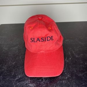 Seaside Coral and Navy Hat